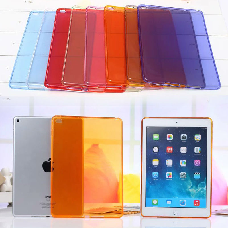 Soft Silicone TPU Gel Case cover for Apple iPad Mini 4 Rubber Shockproof Back Cover for iPad Mini4 Tablet cases S2C042D floveme 7 9 mini4 transparant slim thin cover for apple ipad mini 4 case soft silicone gel crystal clear back funda cases