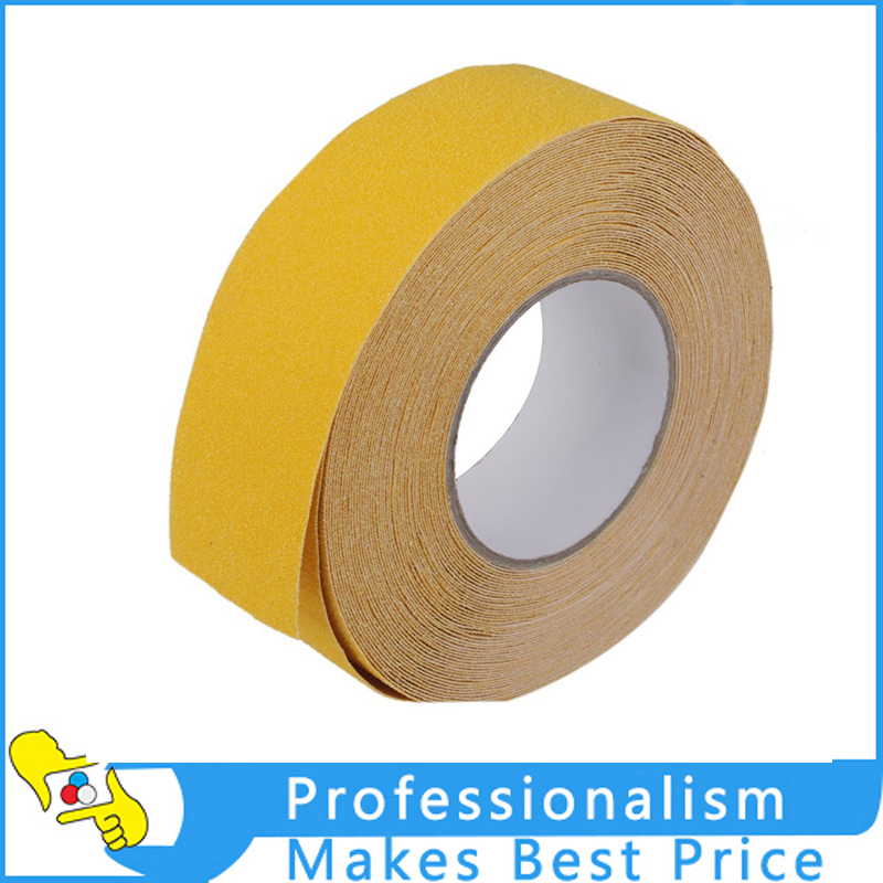 1 Roll 5m(L)*5cm(W) Non Skid Anti Slip Adhesive Tape Stair Step Floor  Safety Yellow In Tape From Home Improvement On Aliexpress.com | Alibaba  Group