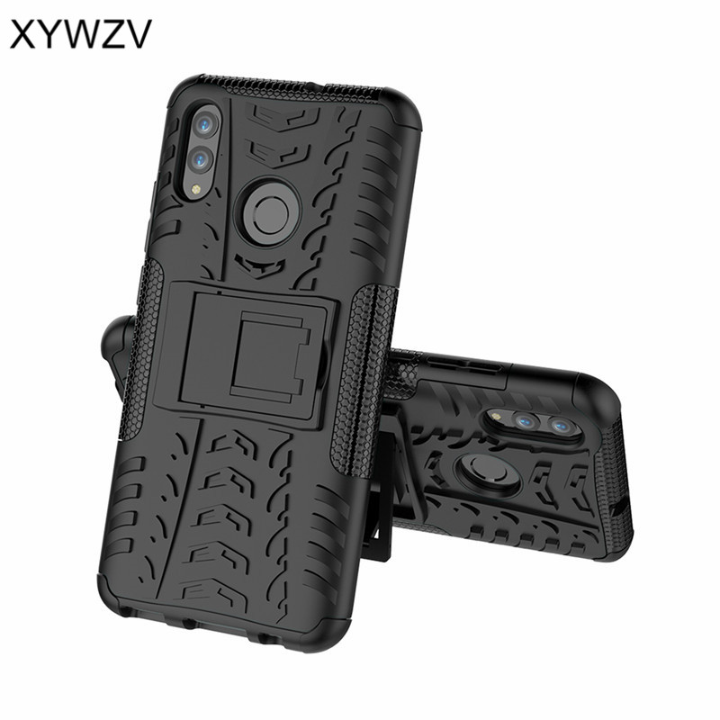 Image 2 - Huawei P Smart 2019 Case Shockproof Armor Rubber Hard Case For Huawei P Smart 2019 Cover Huawei P Smart 2019 Kickstand Fundas ^-in Fitted Cases from Cellphones & Telecommunications