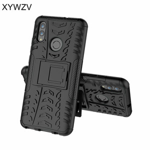 Image 2 - Huawei P Smart 2019 Case Shockproof Armor Rubber Hard Case For Huawei P Smart 2019 Cover Huawei P Smart 2019 Kickstand Fundas ^