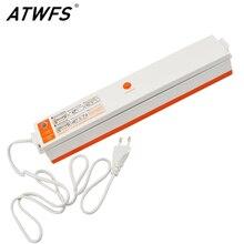 ATWFS Embalador Del Vacío Contenedor de Alimentos de Ahorro Sellador Al Vacío de Alimentos Portátil Película de Embalaje Máquina De Sellado Térmico, Incluyendo 15 unids Bolsas