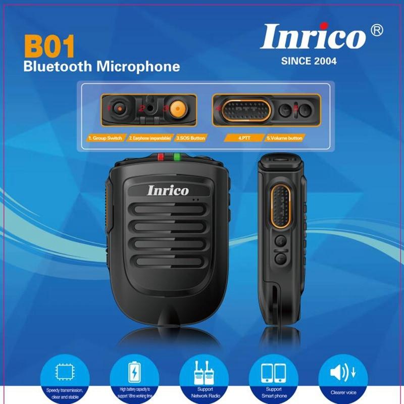 Zello PTT micphone speaker 2000mAh battery work with walkie talkie smart mobile phone
