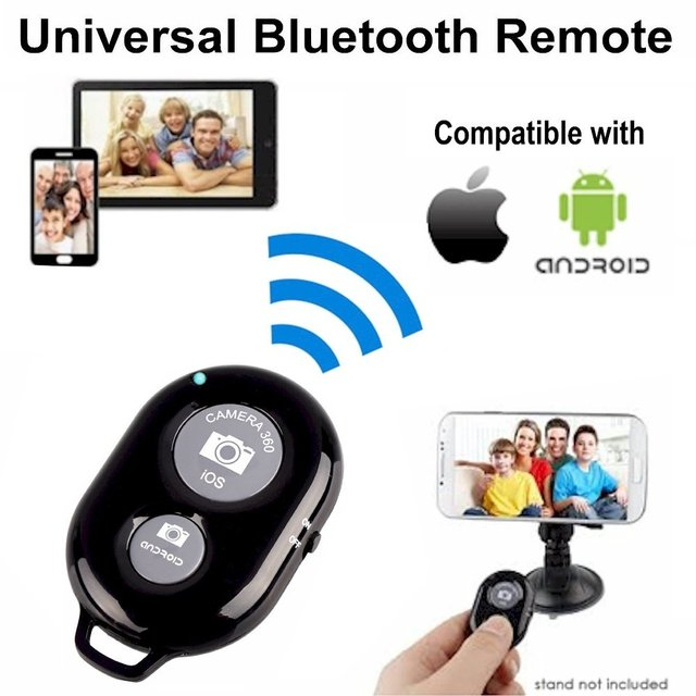 Bluetooth Remote Shutter Release Button for Selfie