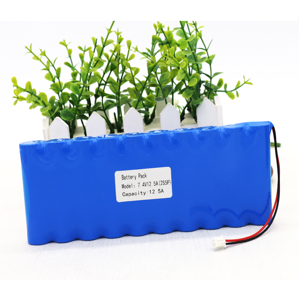 KLUOSI Lithium Ion Battery 7.4V 8.4V 12500 MAh Battery Pack 18650 Battery 12.5Ah Bicycle / CCTV / Camera Rechargeable BatteryKLUOSI Lithium Ion Battery 7.4V 8.4V 12500 MAh Battery Pack 18650 Battery 12.5Ah Bicycle / CCTV / Camera Rechargeable Battery