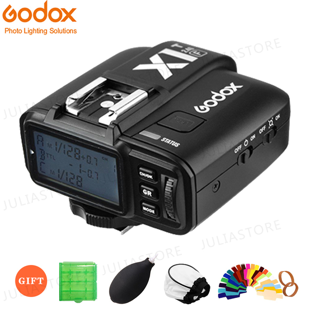 GODOX X1T F X1T C X1T S X1T O X1T N 2.4G اللاسلكية TTL الأحرار فلاش الزناد الارسال لكانون نيكون سوني فوجي فيلم أوليمبوس كاميرا