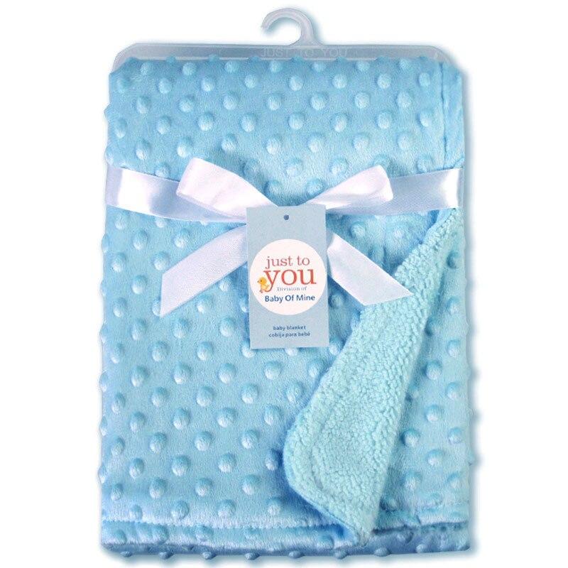 Детское одеяло и пеленание для новорожденных, теплое мягкое Флисовое одеяло, набор однотонных постельных принадлежностей, Хлопковое одеяло