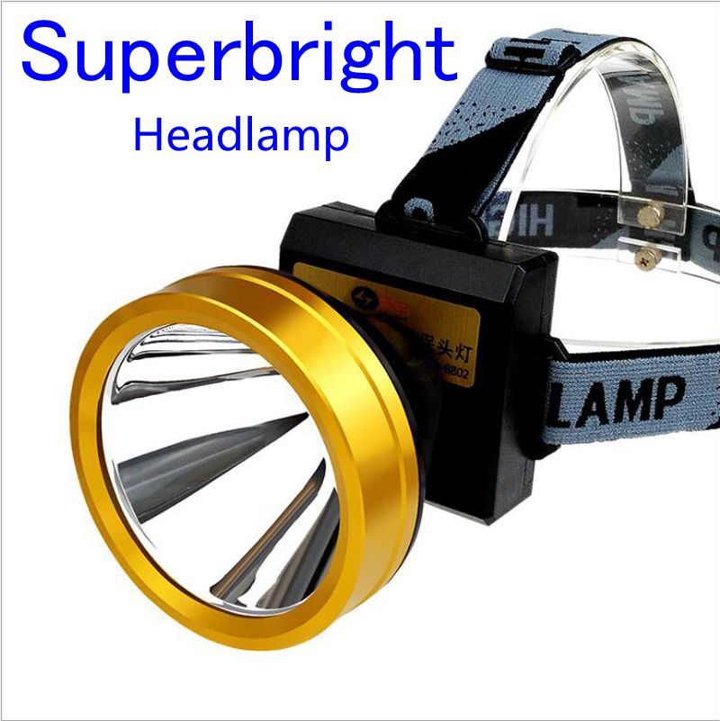 High power outdoor lighting head lamp CREE-L2 led rechrgeable headlight headlamp for camping fishing