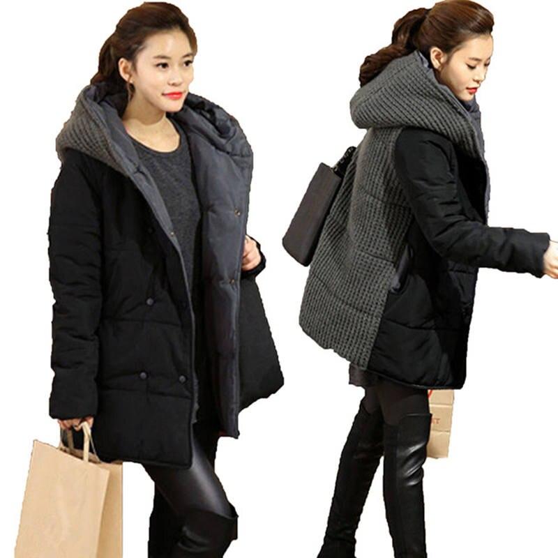 Women Winter Jacket Hooded Warm   Parka   Women Jacket Cotton Padded Long Overcoat Plus Size 3XL 4XL Oversized Coats Outerwear C2661