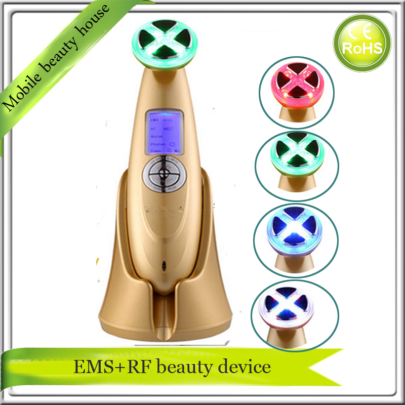 Mini Portable Electroporation Mesotherapy EMS RF Radio Frequency Home use Skin Firming Tighteing Nourishing Face Lifting Machine mini rf electroporation mesotherapy radio frequency ems microcurrent face and body slimming massager free shipping