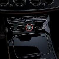 자동차 인테리어 센터 컨트롤 시계 시계 장식 링 커버 트림 메르세데스 벤츠 c e 클래스 glc w205 w213 x253 액세서리