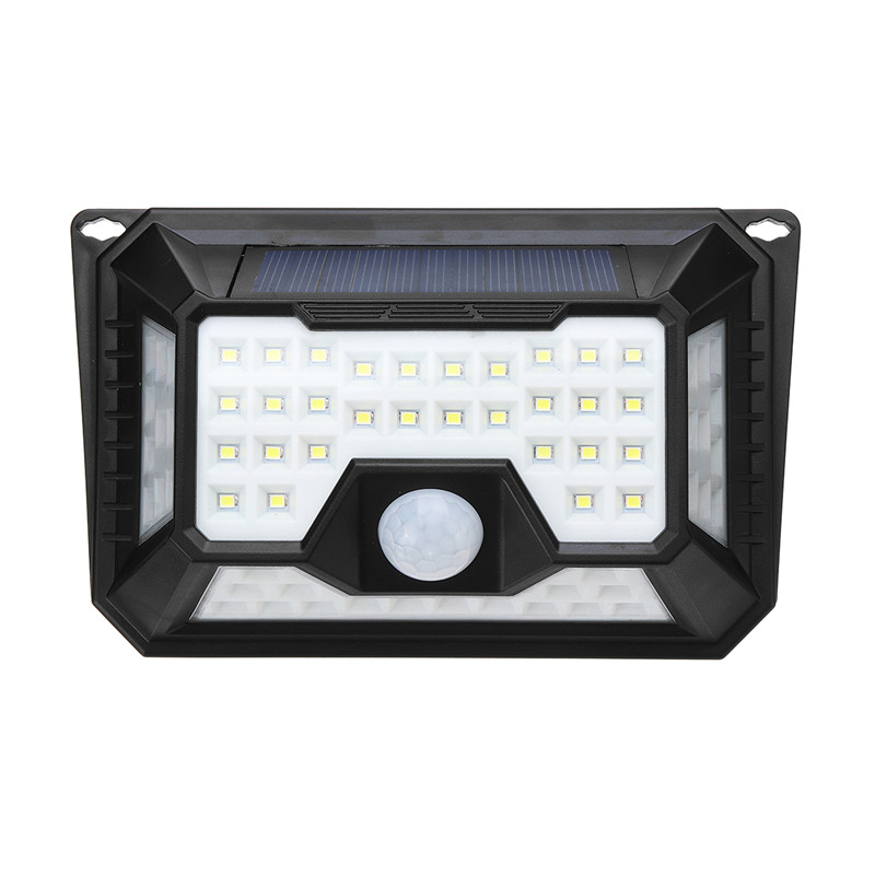 LED luz Solar impermeable IP65 PIR Sensor de movimiento Solar Powered LED al aire libre jardín luz de seguridad camino de emergencia lámpara de pared
