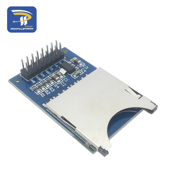 스마트 전자 읽기 및 쓰기 모듈 sd 카드 모듈 슬롯 소켓 리더 arm mcu for arduino diy starter kit