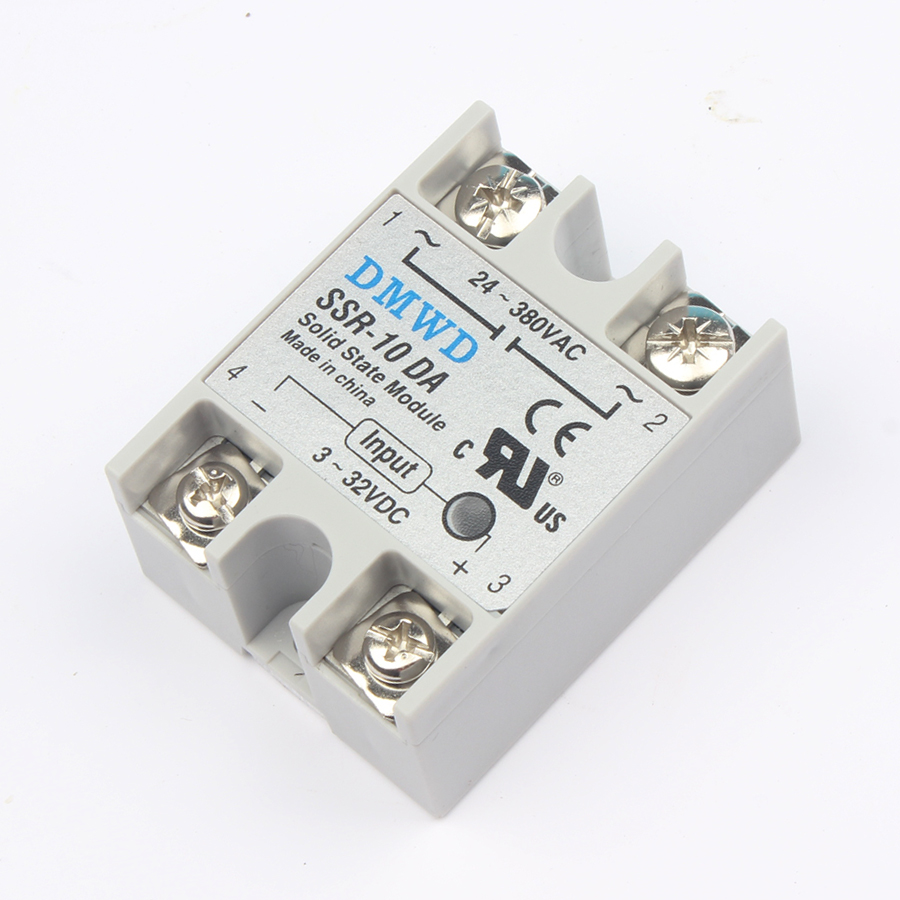 solid state relay SSR-10DA SSR-25DA SSR-40DA 10A 25A 40A actually 3-32V DC TO 24-380V AC SSR 10DA 25DA 40DA high quality new high quality dc to ac solid state relay ssr 60da 60a 4 32v 75 480v aluminium heat sink