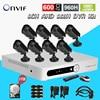 The Video Surveillance 600tvl Camera Security System 8ch Cctv AHD 960h Network Dvr 8 Channel HDMI