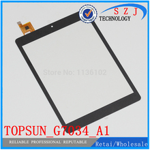 Discount! New 7 inch case for CHUWI V88 Quad Core RK3188 touch pad ,Tablet PC touch panel digitizer TOPSUN_G7034_A1 Free shipping