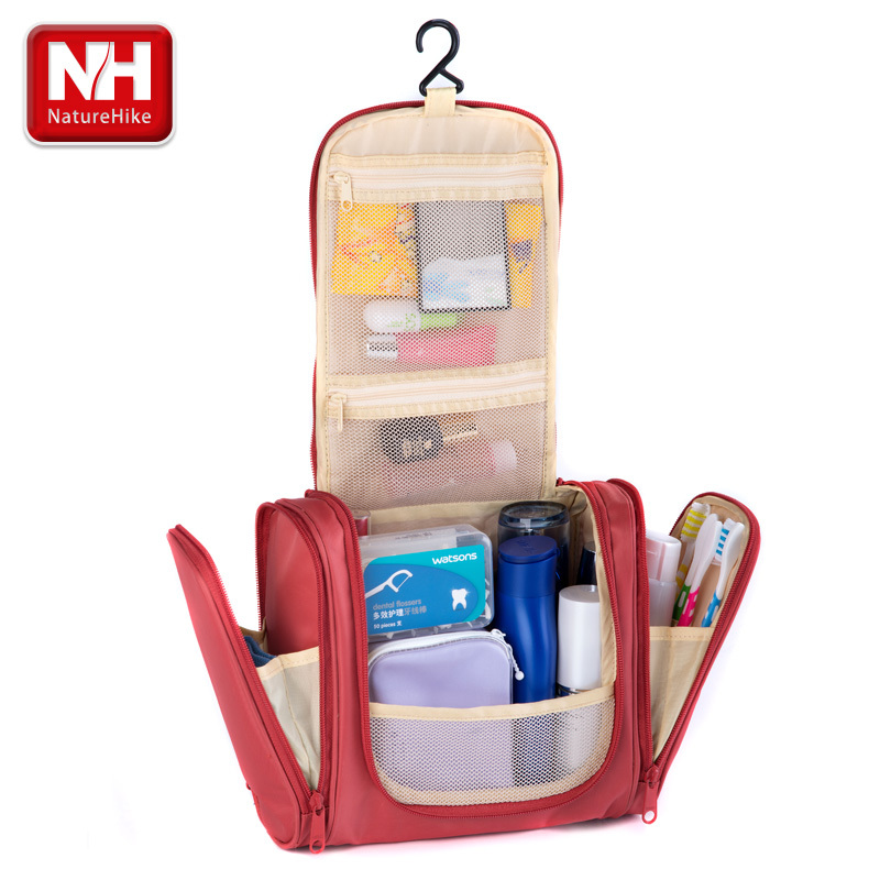 Naturehike Hiking Travel Hanging Cosmetic Bag Wash Toiletry Kit Organizer Large  Capacity-in Cosmetic Bags   Cases from Luggage   Bags on Aliexpress.com ... 320b32da46bc0