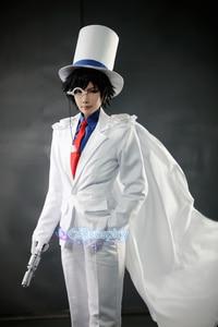 Image 2 - Uniformes le fantôme pour enfant, Costume de Cosplay, détective CONAN Magic Kaito, 7/lot