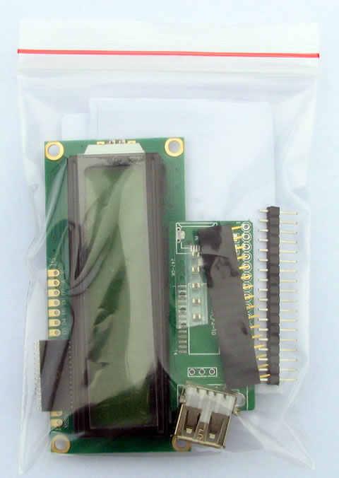 HTPC HD المضيف الكمبيوتر الشاسيه معلومات عرض USB 2 شاشة الكريستال السائل لوحة الإلكترونية لتقوم بها بنفسك جناح الإنتاج