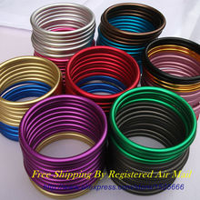 Free Shipping 10pcs/5pairs 3inch aluminum rings to make a sling