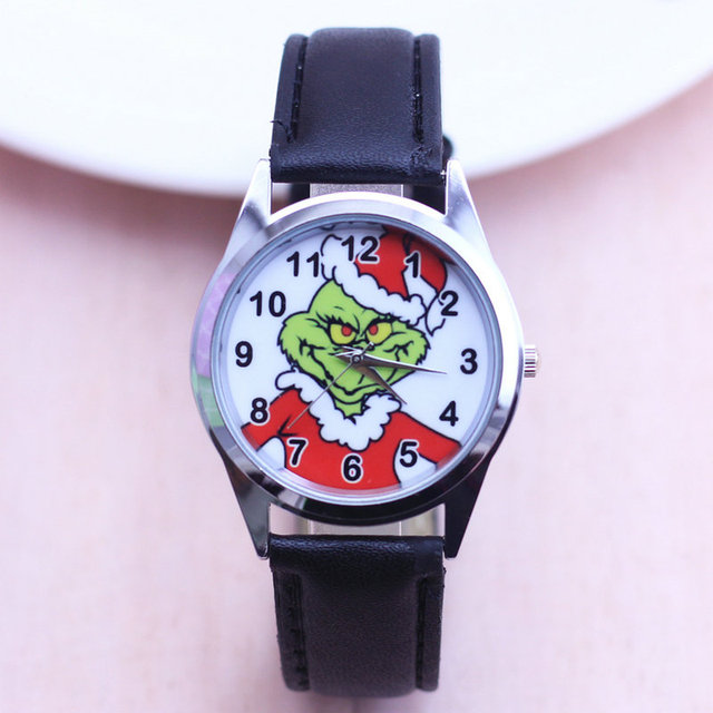2018 Cartoon Watches Fashion Children Boys Girls Kids Students watch How the Gri