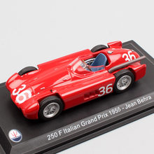 1:43 Scale 250F formula one F1 Italian Grand Prix 1955 No.36 race Jean Behra diecast model sports car toy Collectible miniatures(China)