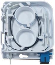 ODN FTTH 1 boîte de terminaison de fibre de noyau 1 port 1 boîte de répartiteur de prise de canal fibre optique intérieure extérieure