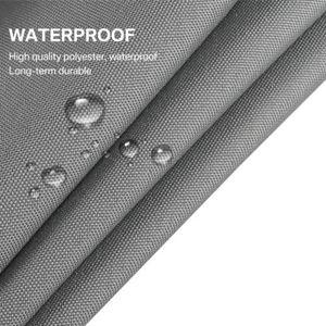 Image 3 - Imperméable abri soleil Triangle parasol Protection extérieur auvent jardin Patio piscine ombre voile auvent Camping ombre tissu grand