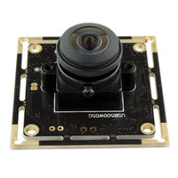 5MP 2592*1944 высокой четкости Aptina MI5100 CMOS супер широкий угол 180 градусов Рыбий глаз 1080 P 30fps UVC USB модуль камеры Android