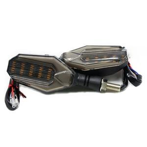 Image 3 - 유니버설 오토바이 LED 차례 신호 표시 등 깜박이 렌즈 블랙 램프 혼다 CBR250R Bmw G650GS F700GS VT 750s VFR400
