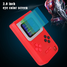 8 Bit Retro Mini Pocket Handheld Game Player Built-in 268 Classic Games Best Gift for Child Nostalgic Video Game Console Gaming