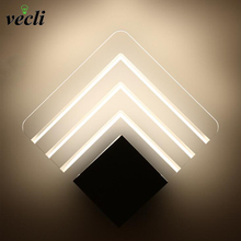 Modern LED Wall Lamp For Bathroom Bedroom 5W Wall Sconce White Indoor Lighting Lamp AC85-265V LED Wall Light Indoor Lighting led wall lamps wall mounted sconces modern wall sconce lustre iron painted white black wall light 5w outdoor and indoor lighting
