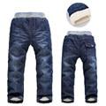 2016 Boys Pants Jeans Winter Thick Children Boys Jeans Kids Trousers cotton straight cylinder Baby Children Pants Jean Garcon