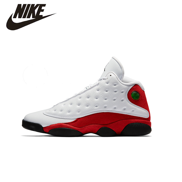 NIKE Original New Arrival AIR JORDAN 13 AJ13 Mens Basketball Shoes  Breathable Stability Top Comfortable For