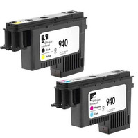 Genuine 2-Pack 940 PRINTHEAD C4900A & C4901A For HP OfficeJet Pro 8000 8500 printer