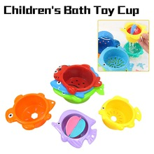 6pcs/set Kids Cartoon Fish Animals Float Educational Toys for Children Water Summer Baby Bathing Swimming Pools Beach Sand Games