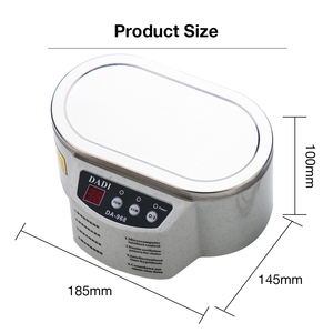 Image 2 - 600 ミリリットル超音波クリーナージュエリーメガネ回路基板洗浄機インテリジェント制御超音波洗浄超音波浴