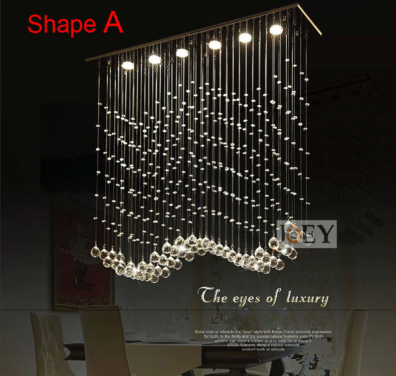 Modern crystal ceiling Italy simply lamp For diningoom and bedroom Luxury Hotel rooms lighting Guaranteed 100% 9062-25100 simply computing for seniors