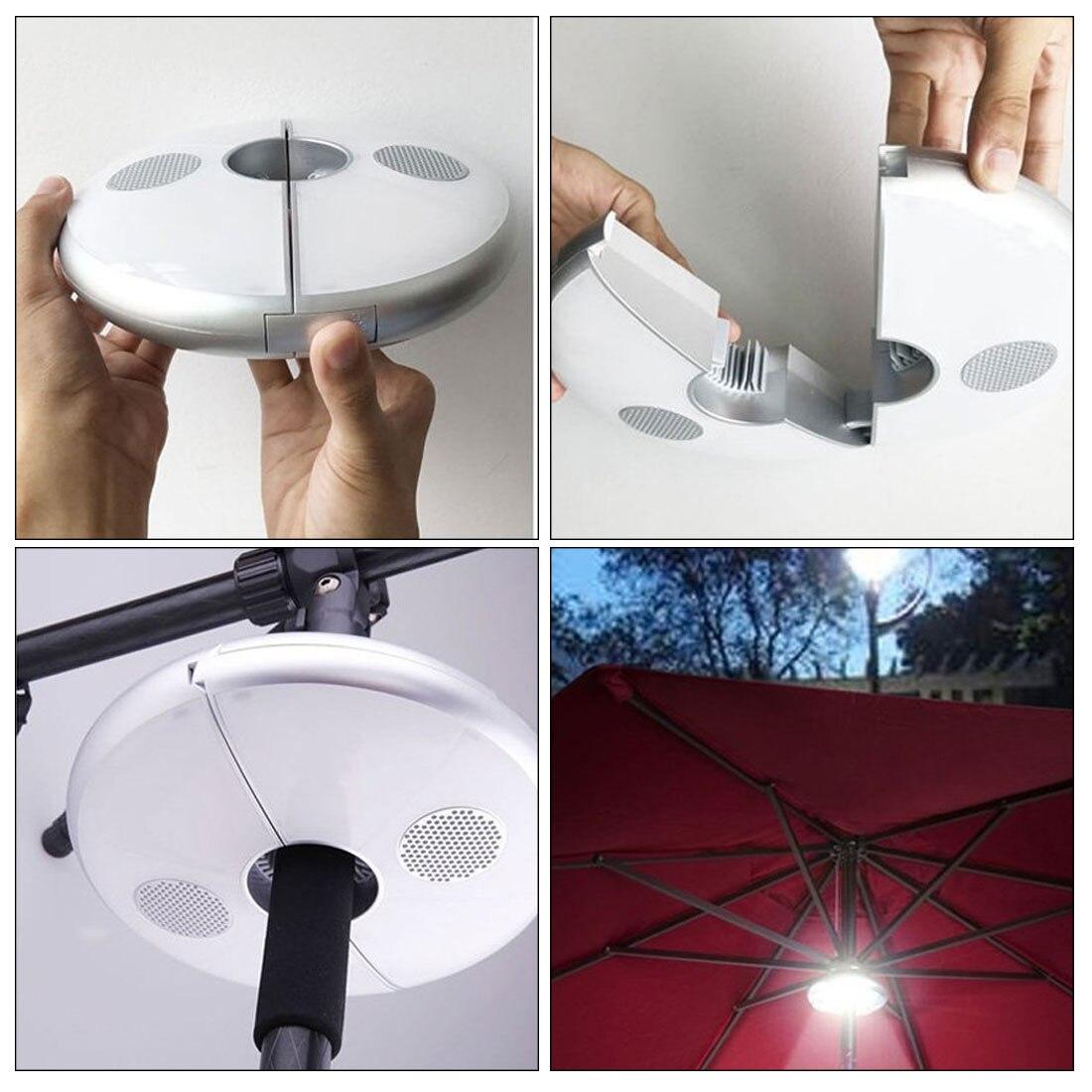Brand New Multifunctional 48 LEDs Tent Light Smart Bluetooth Speaker Tent Lamp Portable Outdoor Smart LED
