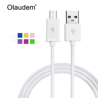 Micro USB Sync Data Charge A Male to Micro B Cable For Android Mobile Phones Samsung LG Sony HTC Nokia Charging Cord USBC208