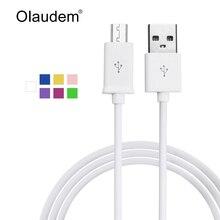 Cable USB Cable micro USB Carga de datos de sincronización Cables de teléfono móvil para Android Samsung Xiaomi Huawei LG Sony HTC Nokia USBC208