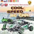 ET RC Автомобилей 1/18 Хобби 2.4 Г 4CH 4WD Рок Сканеры 4x4 байк Двойной Диск Двигателей Модели Багги Внедорожник RC Toys GS03B