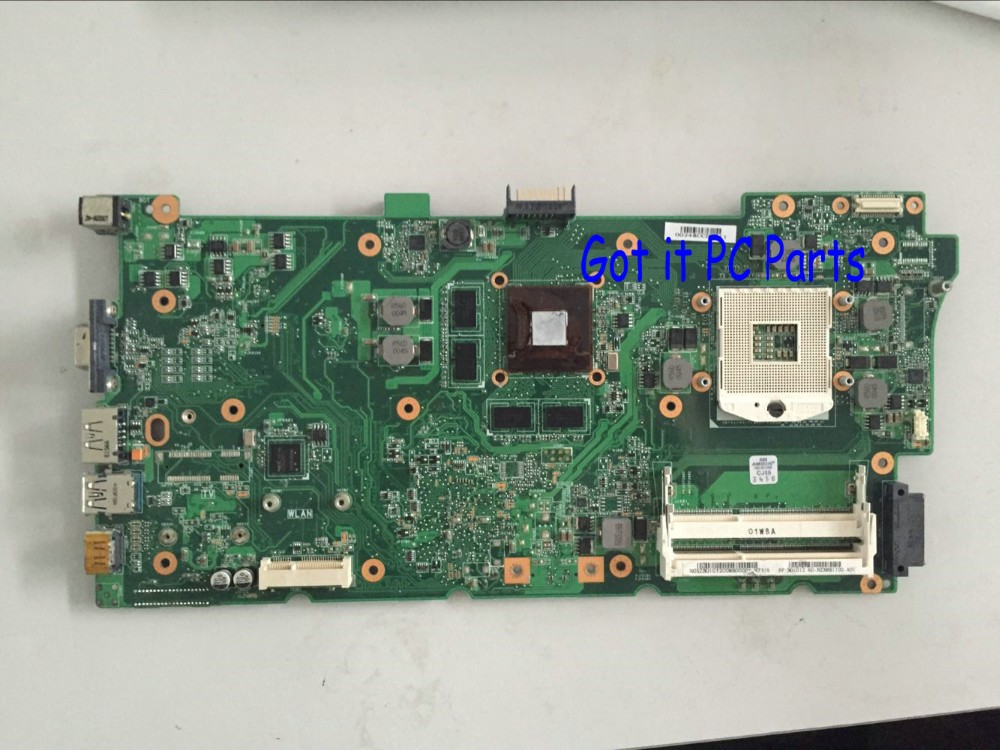 FREE SHIPPING NEW +WORKING N73JN REV : 1.1 MAIN BOARD Laptop motherboard SUPPORT I3 I5 PROCESSOR