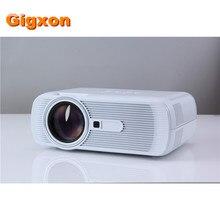 Gigxon-g80 mini led proyector 1080 p hd de vídeo digital portátil proyector vga hdmi tv inicio threater proyector 1000 lúmenes