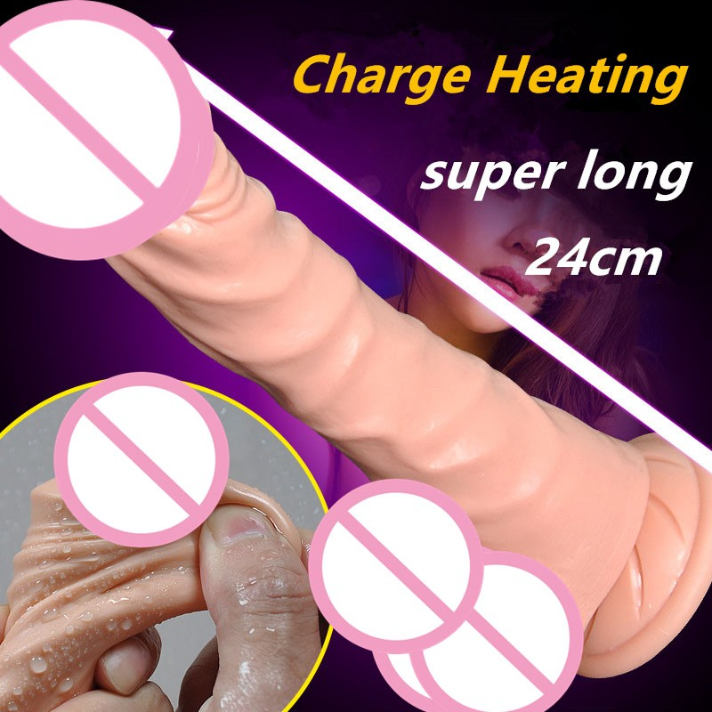 цены top qiality 10 frequency vibration dildo huge realistic vibrator dildo Heating USB charging male artificial penis for women