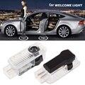 2 шт. Дверь Свет Автомобилей Тень Свет для AUDI для BMW Двери Автомобиля добро пожаловать Свет для Audi Призрак Тень Света Led для BMW Тень лампы
