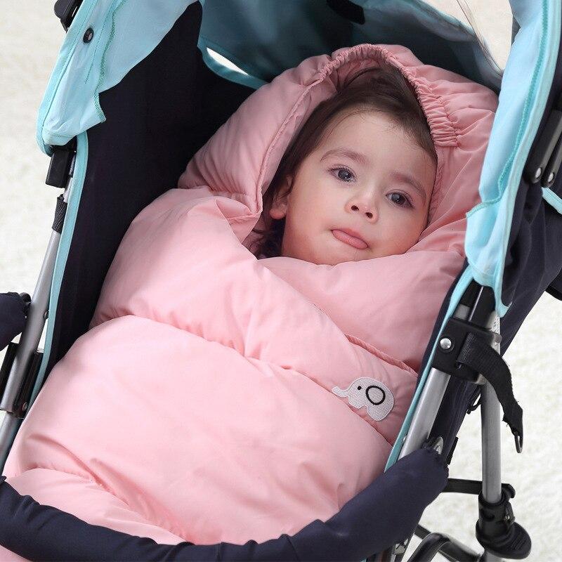 Envelope for Newborns Baby Sleeping Bags Winter Baby Sleepsack Bag Waterproof Stroller Cart Blanket Swaddle Infant