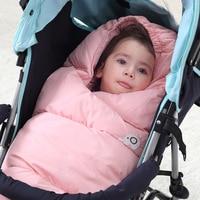 Envelope for Newborns Baby Sleeping Bags Winter Baby Sleepsack Bag Waterproof Stroller Cart Blanket Swaddle Infant Fleabag Quilt