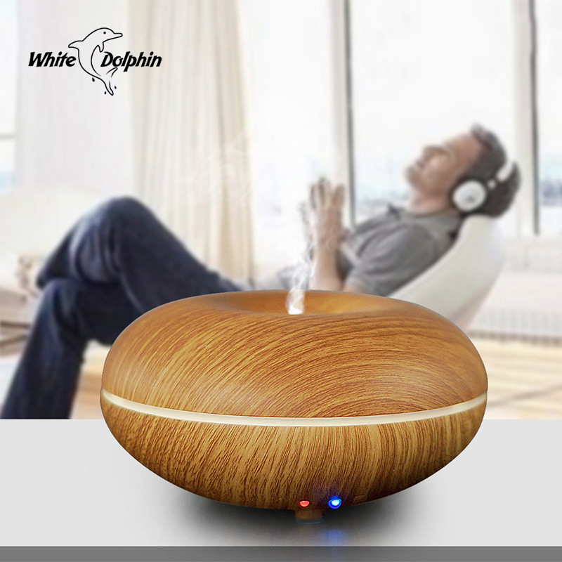 Mini Aromatherapy Essential Oil Diffuser Ultrasonic Cool Mist Humidifier LED Lights Changing Air Humidifier Aroma Diffuser цена