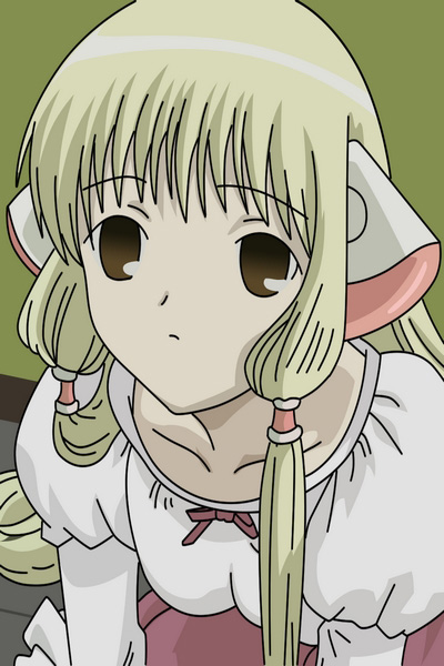 Chobits Chi Cosplay Wig and Earmuff Free Shipping for Halloween and Christmas