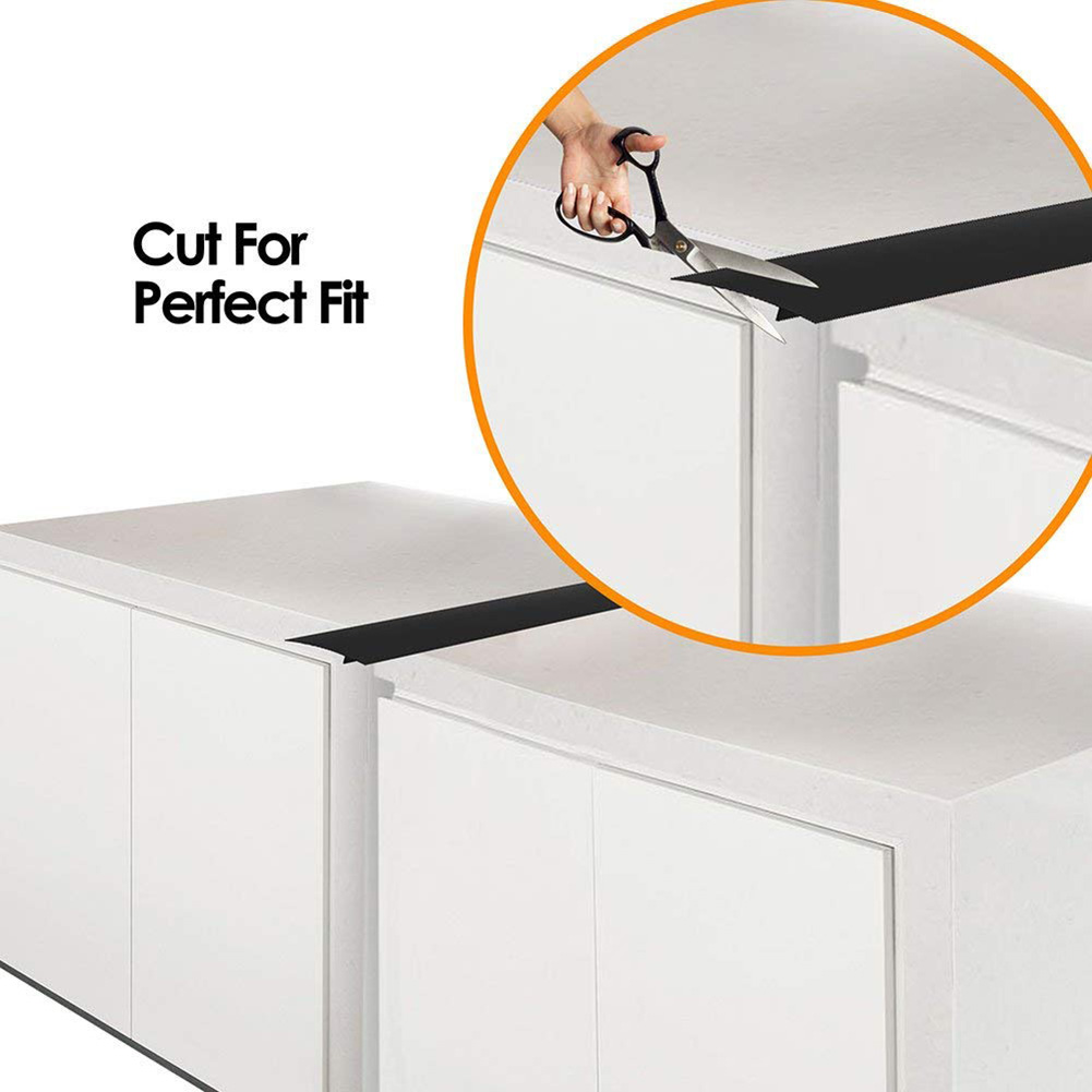 2Pcs Kitchen Silicone Stove Counter Gaps Cover Heat-Resistant Slit Fill Strips TT-best2Pcs Kitchen Silicone Stove Counter Gaps Cover Heat-Resistant Slit Fill Strips TT-best